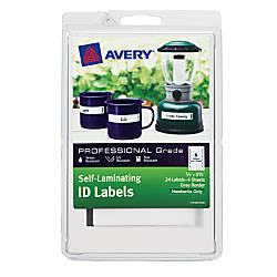 Avery Heavy Duty Self Laminating ID