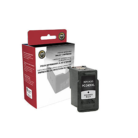 Clover Imaging Group 118019 (Canon PG-240XXL / 5204B001) High-Yield Remanufactured Black Ink Cartridge