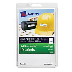 Avery Heavy Duty Self Laminating ID
