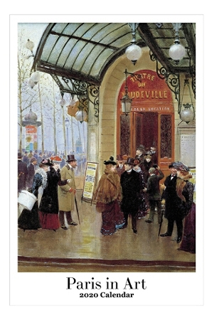"Retrospect Paris In Art Monthly Wall Calendar, 19"" x 12-1/2"", January To December 2020, YC 092-20"
