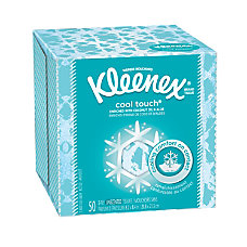 Kleenex BOUTIQUE Cool Touch Facial Tissues