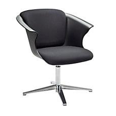 Safco COSY Social Chair BlackChrome