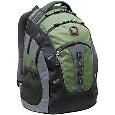 SwissGear GRANITE Laptop Backpack Green