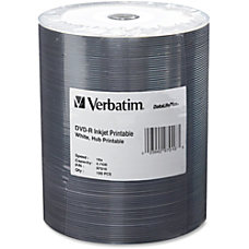 Verbatim DVD R Printable Disc Spindle