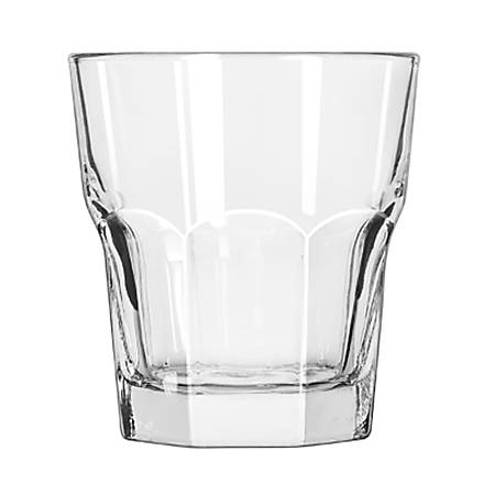 Libbey Gibraltar Old Fashioned Glasses, 10 Oz, Clear, Pack Of 36 Glasses