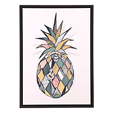 Zuo Modern Pineapple Canvas Multicolor