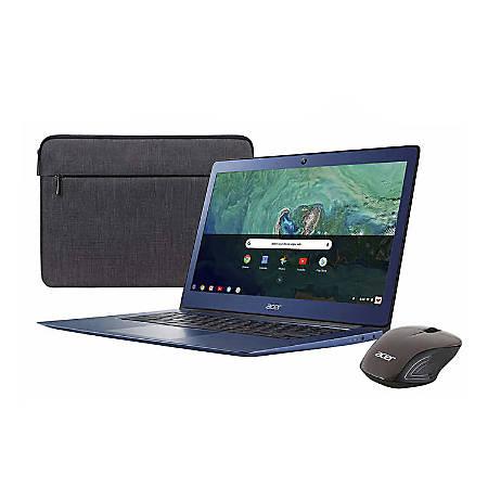 "Acer® Chromebook 14 Refurbished Laptop, 14"" Screen, Intel® Celeron®, 4GB Memory, 32GB Flash Storage, Google™ Chrome OS"