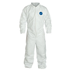 DuPont Tyvek Coveralls With Elastic Wrists