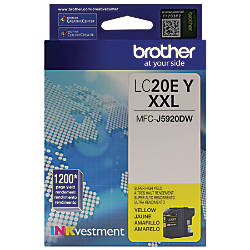 Brother INKvestment LC20EY Extra High Yield