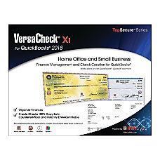 VersaCheck X1 2018 For QuickBooks Traditional