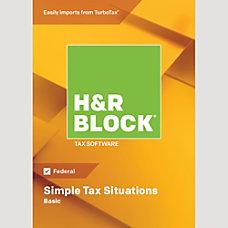 H R Block 18 Basic Mac