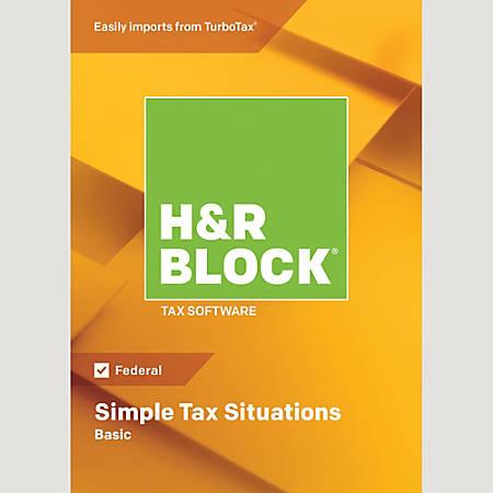 H&R Block® 18 Basic, Download Version
