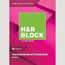 H R Block 18 Deluxe Mac