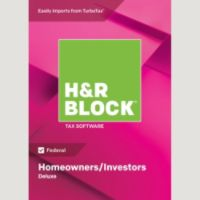 H&R Block 18 Deluxe Windows Digital + $15 Office Depot GC Deals