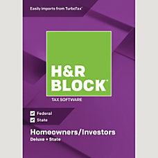 H R Block 18 Deluxe State