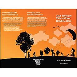 Customizable Trifold Brochure Parachute