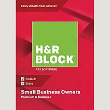 H R Block 18 Premium Business