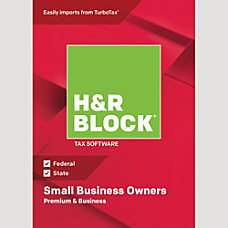H R Block 18 Premium Business