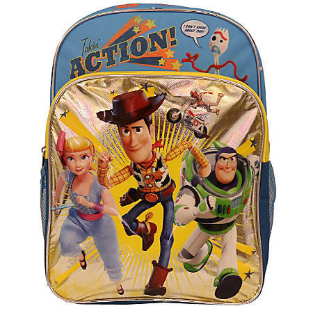 Disney Toy Story 4 Takin' Action Backpack, Multicolor