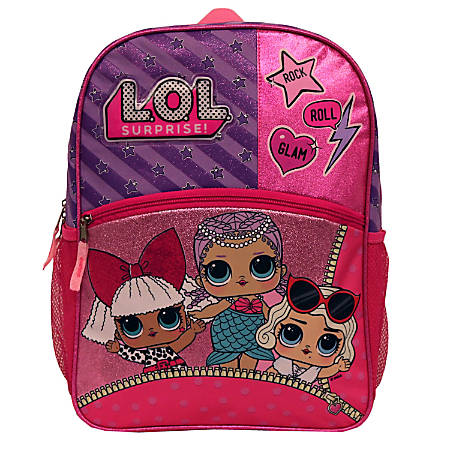 L.O.L. Surprise Rock N' Roll Glam Backpack, Pink