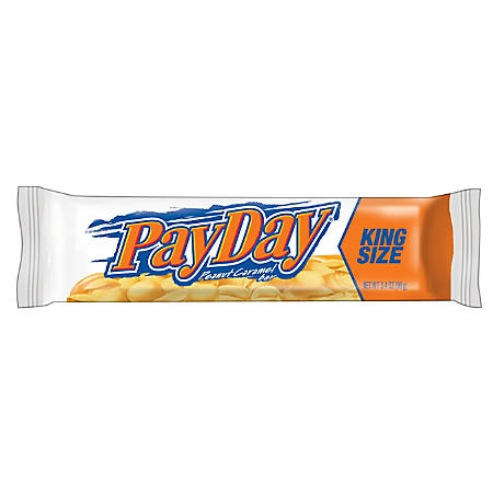 PayDay®, King Size, 3.4 Oz., Bar