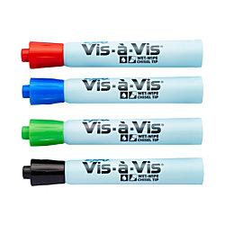 Vis® Wet-Erase Chisel-Tip Markers,