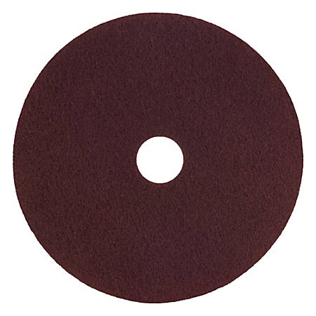 """Scotch-Brite™ Surface Preparation Plus Pads, 17"""", Maroon, Pack Of 5 Pads"""