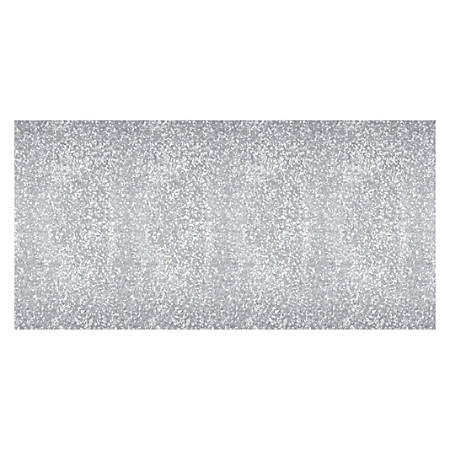 "Fadeless Galvanized Design Paper Roll - Classroom, Display, Table Skirting, Decoration - 48"" x 50 ft - Galvanized - 1 Roll - Metallic Gray - Paper"