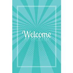 Custom Floor Decal Template FDV Welcome