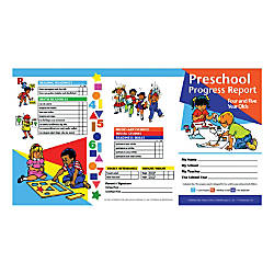 Hayes Preschool Progress Report Cards Age