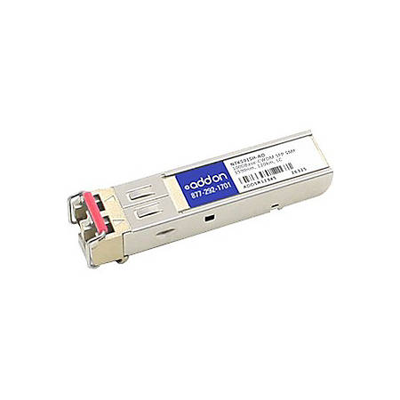 AddOn Ciena NTK591SH Compatible TAA Compliant 1000Base-CWDM SFP Transceiver (SMF, 1590nm, 120km, LC) - 100% compatible and guaranteed to work