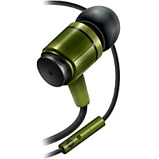 GOgroove AudiOHM In Ear Headphones Army