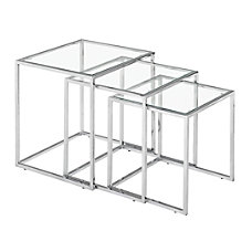 Zuo Modern Pasos Nesting Tables Square