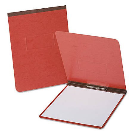 """Oxford PressGuard Special Size Report Covers with Reinforced Top Hinge - Legal - 8 1/2"""" x 14"""" Sheet Size - 1 Fastener(s) - 2"""" Fastener Capacity for Folder, 2 3/4"""" Fastener Capacity - Pressguard - Red - Recycled - 1 / Each"""