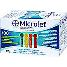 Ascensia MICROLET Lancets Box Of 100