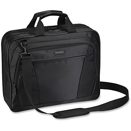 "Targus CityLite Notebook Case - Nylon, Polyester - Handle, Shoulder Strap - 13.3"" Height x 16.5"" Width x 3.5"" Depth"