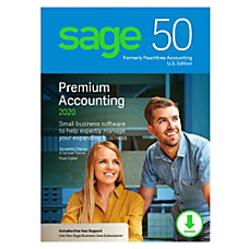 Sage 50 Premium Accounting 2020 US