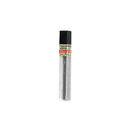 Pentel Super Hi-Polymer Pencil Lead 0.2 mm Grade 2B 12 Leads per Tube
