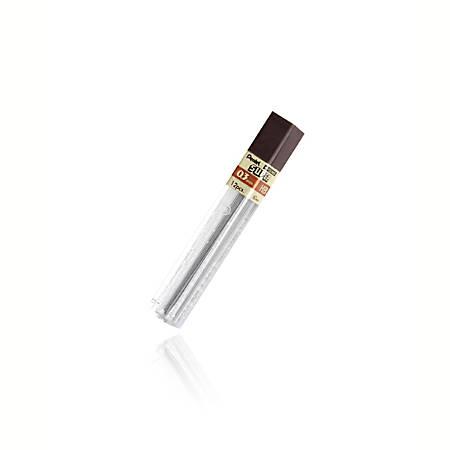 Pentel® Premium Hi-Polymer® Lead, 0.3 mm, HB, Extra Fine Point, Black