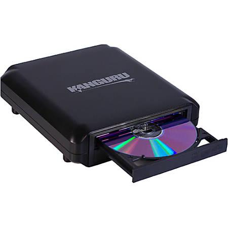 Kanguru U2-DVDRW-24X External DVD-Writer - DVD-RAM/±R/±RW Support - 48x CD Read/48x CD Write/32x CD Rewrite - 16x DVD Read/24x DVD Write/8x DVD Rewrite - Double-layer Media Supported - USB 2.0, TAA Compliant