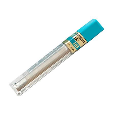 Pentel® Super Hi-Polymer® Leads, 0.7 mm, HB, 12 Leads Per Tube