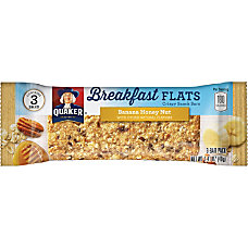 Quaker Oats Foods Breakfast Flats Crispy