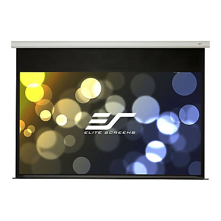 Elite Screens Spectrum2 Series SPM100H-E12 - Projection screen - ceiling mountable, wall mountable - motorized - 110 in (109.8 in) - 16:9 - MaxWhite FG