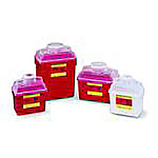 BD Multi Use Nestable Sharps Containers