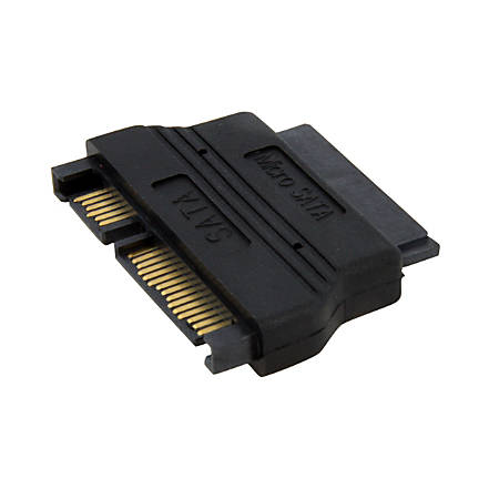 StarTech.com Micro SATA to SATA Adapter Cable with Power