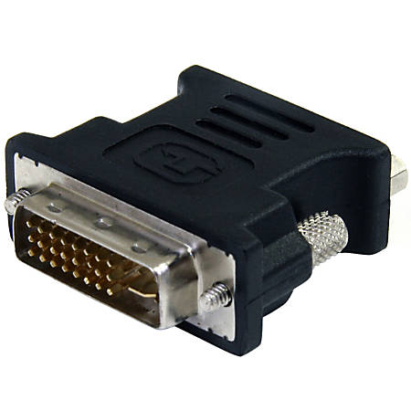 StarTech.com DVI to VGA Cable Adapter - Black - M/F - PVC