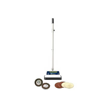 "Koblenz Upright Rotary Cleaner - 12"" Cleaning Width - 20 ft Cable Length - 4.20 A - White, Gray"