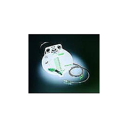 Bedside Drainage Bag, Sterile, 2 Hooks, 2000cc