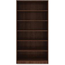 Lorell Laminate Bookcase 6 Shelf 72