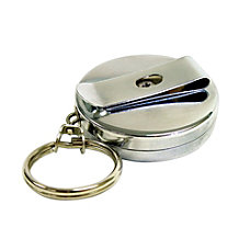 Pyramid Clip On Retractable Key Reel